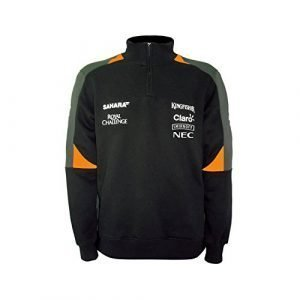 1e4f8fbc 2018 Mercedes-AMG F1 Lewis Hamilton Half Zip Knitted Jumper by Tommy ...