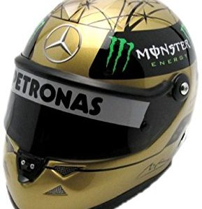 Schuberth 1 2 Mini F1 Helmet Michael Schumacher Gold Spa 2011