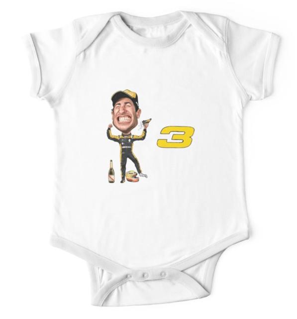 Ricciardo Baby Bodysuit