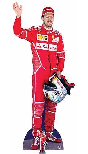 Sebastian Vettel Star Cutouts