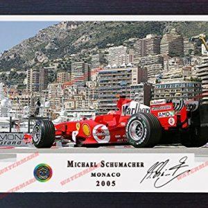 Signed autograph Michael Schumacher