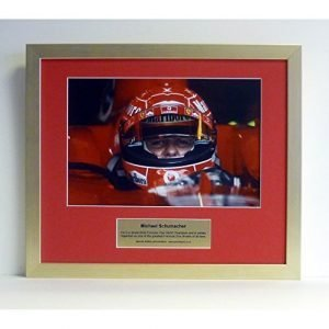 Special edition photo Michael Schumacher