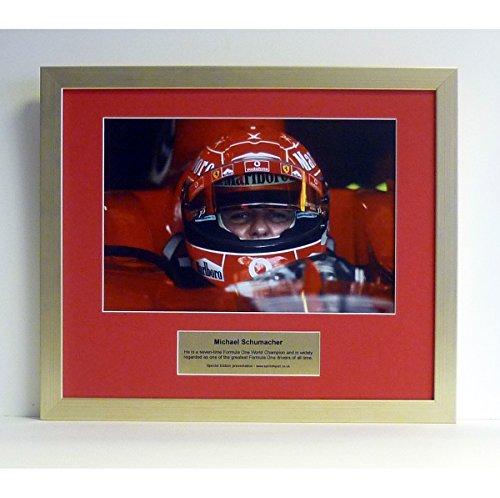 Special edition photo Michael Schumacher