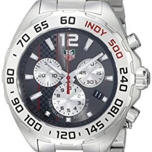 Tag Heuer Formula 1 CAZ1114.BA0877 42mm Silver Steel Bracelet & Case Synthetic Sapphire Men's Watch