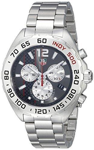 Tag Heuer Formula 1 CAZ1114.BA0877 42mm Silver Steel Bracelet & Case Synthetic Sapphire Men's Watch