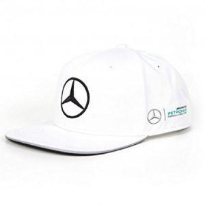 Valtteri Bottas Mercedes 2017 white flatbrim