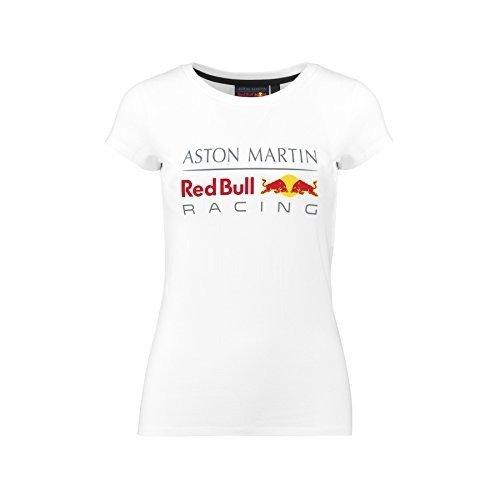 Whybee 2018 Aston Martin Red Bull Racing F1 Team Womens RBR Logo T-Shirt Ladies Girls