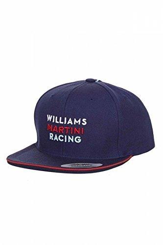 Williams Martini Racing F1 Team Stripes Flat Brim Peak Cap